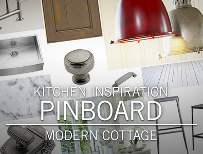 Kitchen Inspiration Pinboard: Modern Cottage